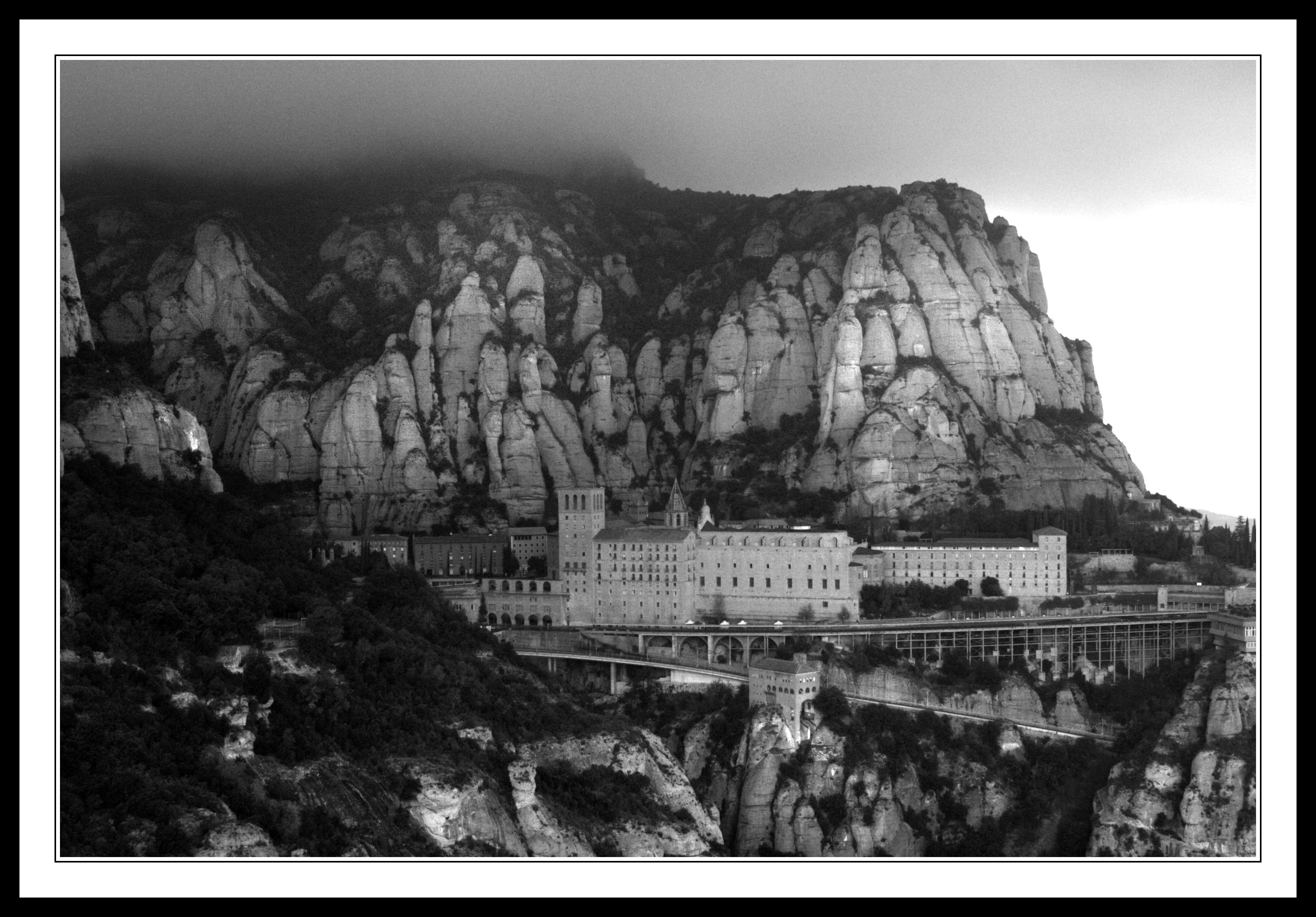Montserrat Covered in Mist