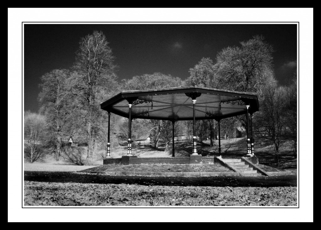The bandstand in The Phoenix Park